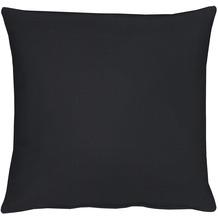 APELT Uni-Basic Kissen schwarz 39x39