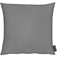 APELT Uni-Basic Kissenhülle dunkelgrau 40x40