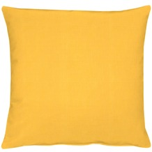 APELT Uni-Basic Kissenhülle gelb 49x49