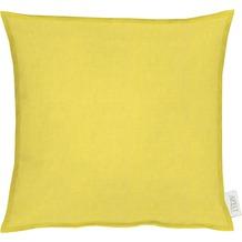 APELT Uni-Basic Kissenhülle gelb 49x49, hell