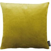 APELT Uni-Basic Kissenhülle gelbgrün 46x46