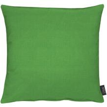 APELT Uni-Basic Kissenhülle grün 46x46, schlicht