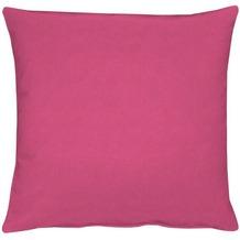 APELT Uni-Basic Kissenhülle pink 49x49