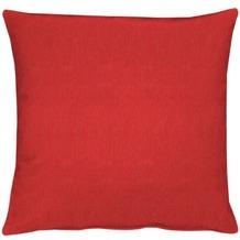 APELT Uni-Basic Kissenhülle rot 40x40