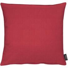 APELT Uni-Basic Kissenhülle rot 46x46, blass