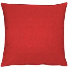 APELT Uni-Basic Kissenhülle rot 49x49