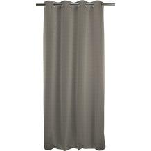 APELT Uni-Basic Ösenschal grau groß 135x245