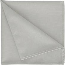 APELT Uni-Basic Serviette grau 45x45