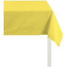 APELT Uni-Basic Tischdecke gelb 140x250