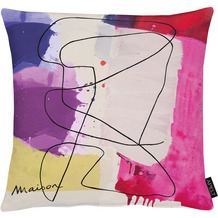 APELT UNIQUE Kissen bunt / multi 45x45 cm, Abstrakt