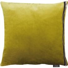 APELT UNIQUE Kissen grün 65x65