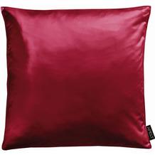 APELT UNIQUE Kissen Uni rot 45x45 cm