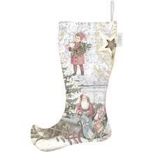 APELT Winterwelt Stiefel creme/pastell/bunt 12x36