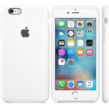 Apple iPhone 6s Plus Silicone Case, weiß
