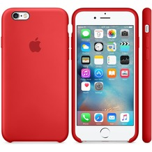 Apple iPhone 6s Silicone Case, rot