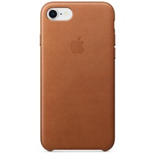 Apple iPhone 7 / 8 Leather Case - Saddle Brown