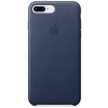 Apple iPhone 7 Plus / iPhone 8 Plus Leather Case - Midnight Blue