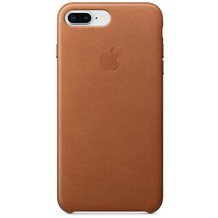 Apple iPhone 7 Plus / iPhone 8 Plus Leather Case - Saddle Brown