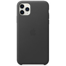 Apple Leder Case iPhone 11 Pro Max schwarz