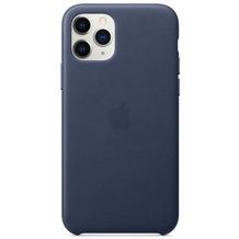 Apple Leder Case iPhone 11 Pro mitternachtsblau
