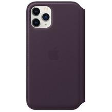 Apple Leder Folio iPhone 11 Pro aubergine