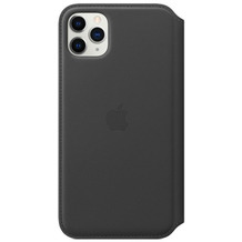 Apple Leder Folio iPhone 11 Pro Max schwarz