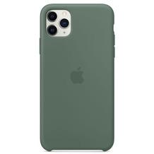 Apple Silikon Case iPhone 11 Pro Max piniengrün