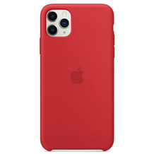 Apple Silikon Case iPhone 11 Pro Max rot