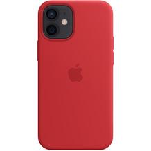 Apple Silikon Case iPhone 12 mini mit MagSafe (rot)