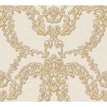 Architects Paper barocke Mustertapete Luxury Classics Vliestapete beige creme metallic 347771 10,05 m x 0,53 m