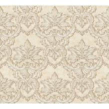 Architects Paper barocke Mustertapete Luxury Classics Vliestapete beige metallic 343703 10,05 m x 0,53 m