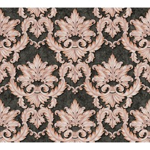 Architects Paper barocke Mustertapete Luxury Classics Vliestapete braun metallic schwarz 343702 10,05 m x 0,53 m