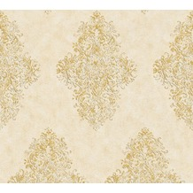 Architects Paper barocke Mustertapete Luxury Classics Vliestapete creme metallic 351105 10,05 m x 0,53 m