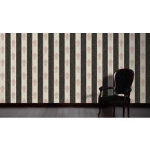 Architects Paper barocke Mustertapete Luxury Classics Vliestapete creme metallic schwarz 10,05 m x 0,53 m