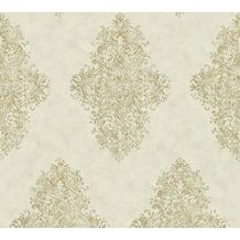 Architects Paper barocke Mustertapete Luxury Classics Vliestapete grün metallic 351102 10,05 m x 0,53 m