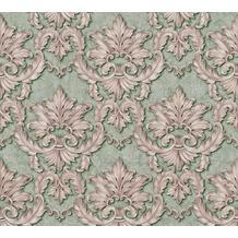 Architects Paper barocke Mustertapete Luxury Classics Vliestapete grün metallic lila 343705 10,05 m x 0,53 m