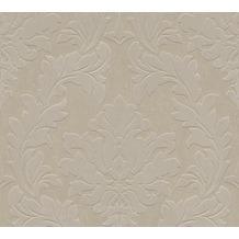 Architects Paper beflockte Vliestapete Castello Tapete braun metallic 335803 10,05 m x 0,52 m