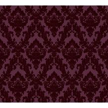 Architects Paper beflockte Vliestapete Castello Tapete rot 335825 10,05 m x 0,52 m