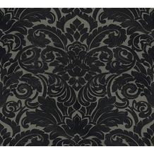 Architects Paper beflockte Vliestapete Castello Tapete rot schwarz 335836 10,05 m x 0,52 m
