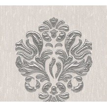 Architects Paper besticktes Designpanel AP Wall Fashion Textiltapete creme metallic 306342 3,20 m x 0,53 m