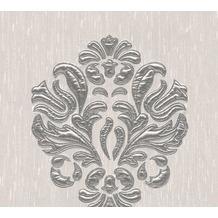 Architects Paper besticktes Designpanel AP Wall Fashion Textiltapete creme metallic 306342 3,20 m x 0,53 m