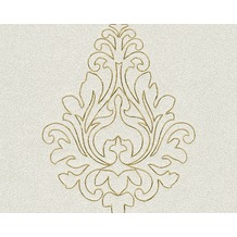 Architects Paper besticktes Panel Nobile, creme, metallic 969821 3,20 m x 0,70 m