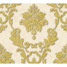 Architects Paper klassische Mustertapete Luxury wallpaper Tapete creme metallic 324223 10,05 m x 0,53 m