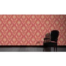Architects Paper klassische Mustertapete Luxury wallpaper Tapete metallic rot 10,05 m x 0,53 m