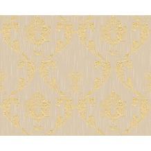Architects Paper klassische Mustertapete Metallic Silk Textiltapete beige metallic 306582