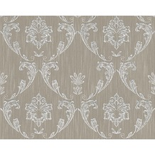 Architects Paper klassische Mustertapete Metallic Silk Textiltapete beige metallic 306583 10,05 m x 0,53 m