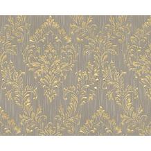Architects Paper klassische Mustertapete Metallic Silk Textiltapete beige metallic 306593 10,05 m x 0,53 m
