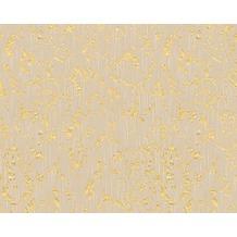 Architects Paper klassische Mustertapete Metallic Silk Textiltapete beige metallic 306602