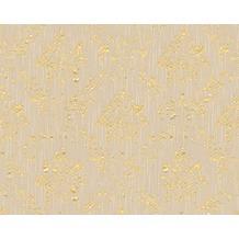 Architects Paper klassische Mustertapete Metallic Silk Textiltapete beige metallic 306624