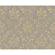 Architects Paper klassische Mustertapete Metallic Silk Textiltapete beige metallic 306625 10,05 m x 0,53 m